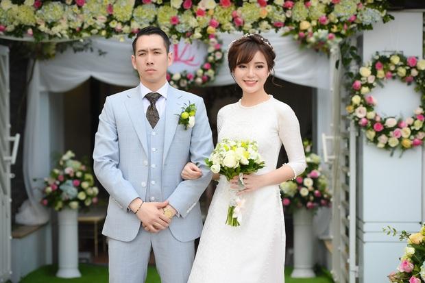 Ngắm những khoảnh khắc hạnh phúc ngọt ngào của Tú Linh và chồng trong đám cưới - Ảnh 6.
