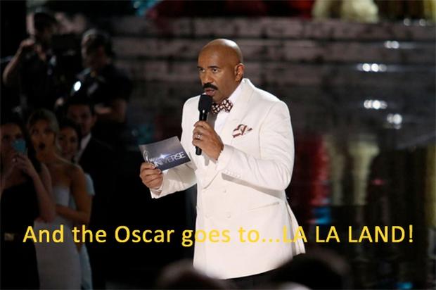 Cười không nhặt được mồm với ảnh chế MC trao nhầm giải cho La La Land tại Oscar 2017 - Ảnh 4.