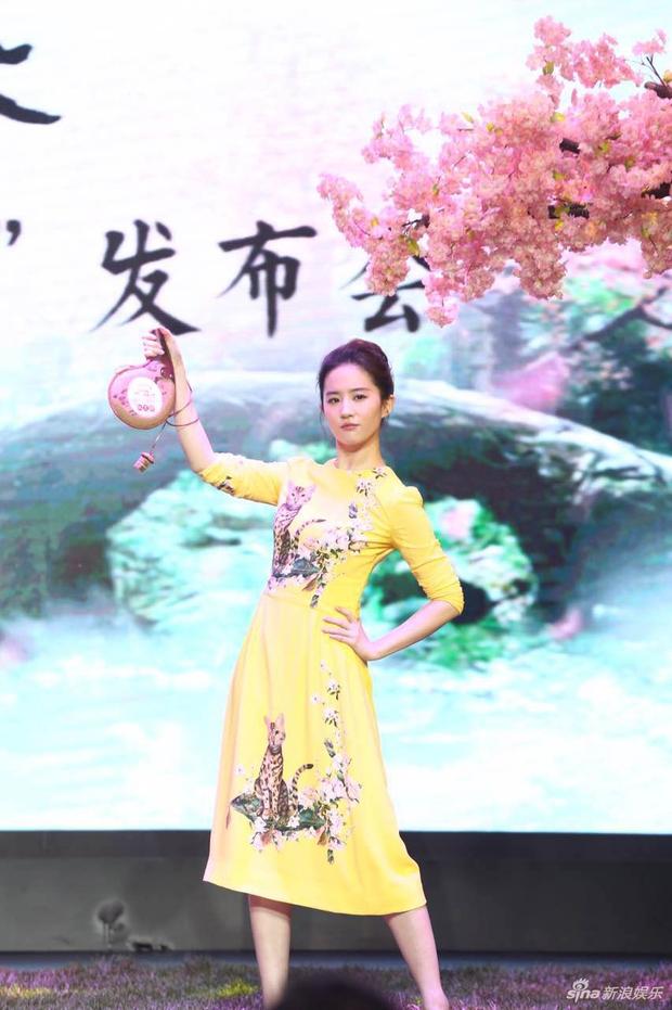 Vừa úp mở chuyện chia tay với Song Seung Hun, Lưu Diệc Phi đã rạng rỡ và tình tứ bên người tình màn ảnh kém 4 tuổi - Ảnh 11.
