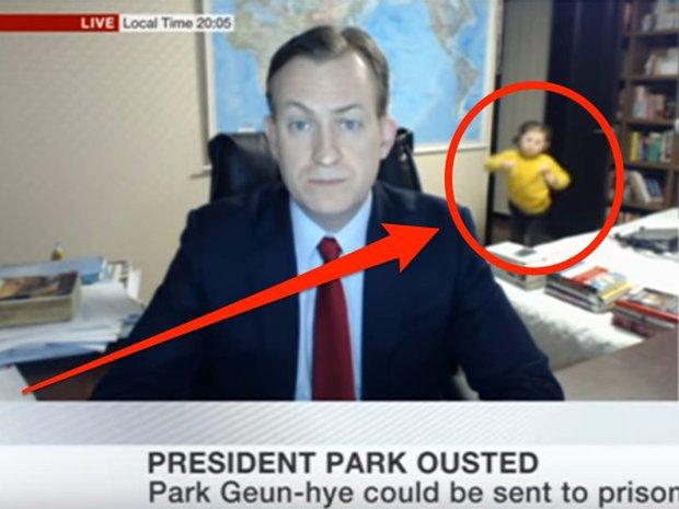 Gia đình trong đoạn video phỏng vấn BBC nổi tiếng thế giới lần đầu lên tiếng về sự cố không thể đáng yêu hơn - Ảnh 2.