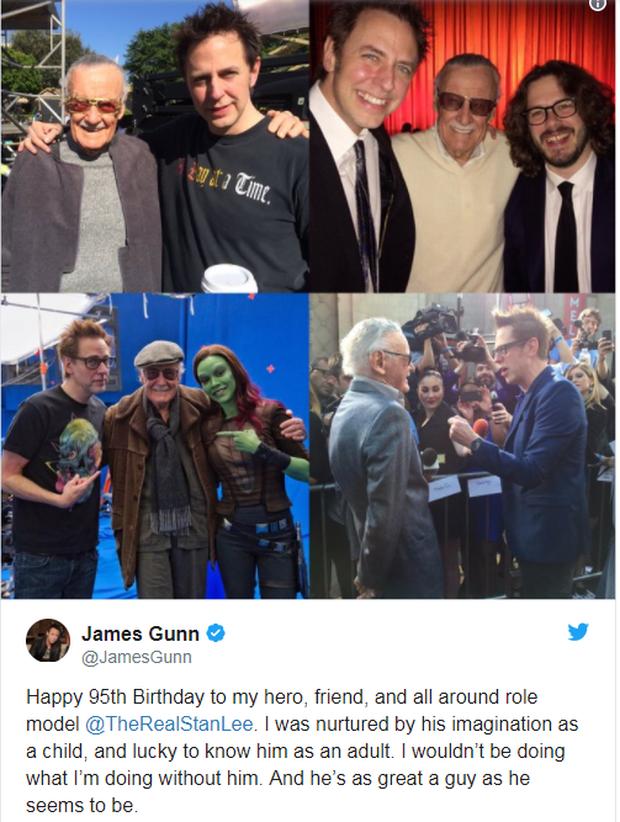 Anh em Avengers nhao nhao chúc mừng thọ bố già Stan Lee tròn 95 tuổi - Ảnh 6.