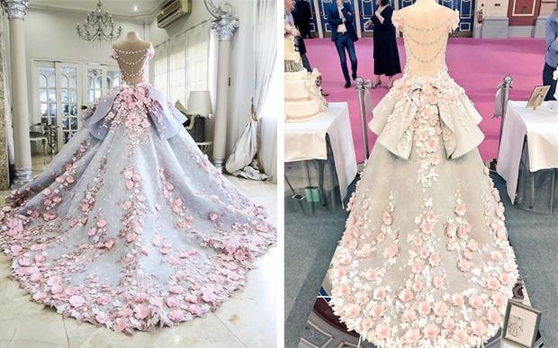 Chiêm ngưỡng chiếc bánh gato váy cưới đẹp lộng lẫy như trong cổ tích - Ảnh 2.