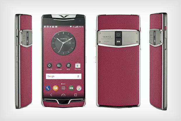 4 chiếc điện thoại Vertu sang chảnh mà ai cũng từng thích mê mệt - Ảnh 3.