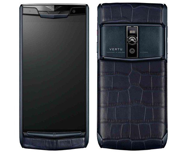 4 chiếc điện thoại Vertu sang chảnh mà ai cũng từng thích mê mệt - Ảnh 2.