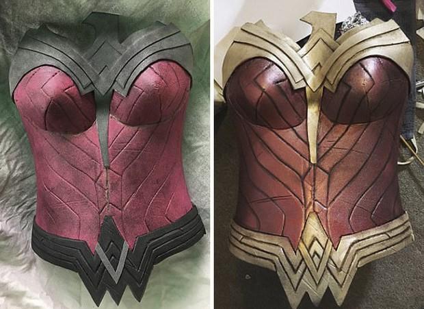 Chỉ dùng thảm xốp và băng dính, cô gái này vẫn cosplay Wonder Woman thành công mỹ mãn - Ảnh 11.