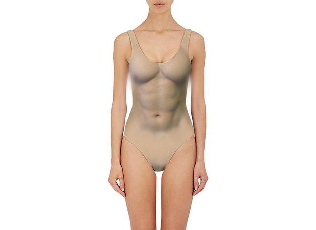 Đến phải chạy mất dép với mẫu áo bơi họa tiết lông lá rậm rạp như rừng Amazon - Ảnh 7.