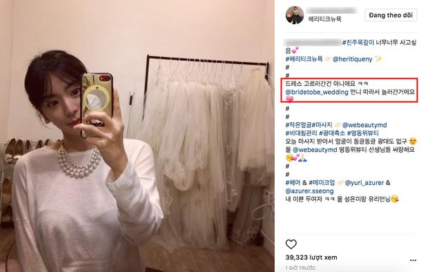 Vị hôn thê gia thế khủng của Yoochun đã bắt đầu đi thử váy cưới? - Ảnh 2.