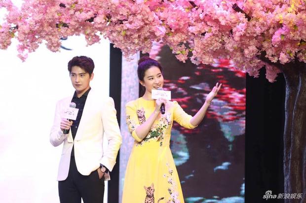 Vừa úp mở chuyện chia tay với Song Seung Hun, Lưu Diệc Phi đã rạng rỡ và tình tứ bên người tình màn ảnh kém 4 tuổi - Ảnh 4.