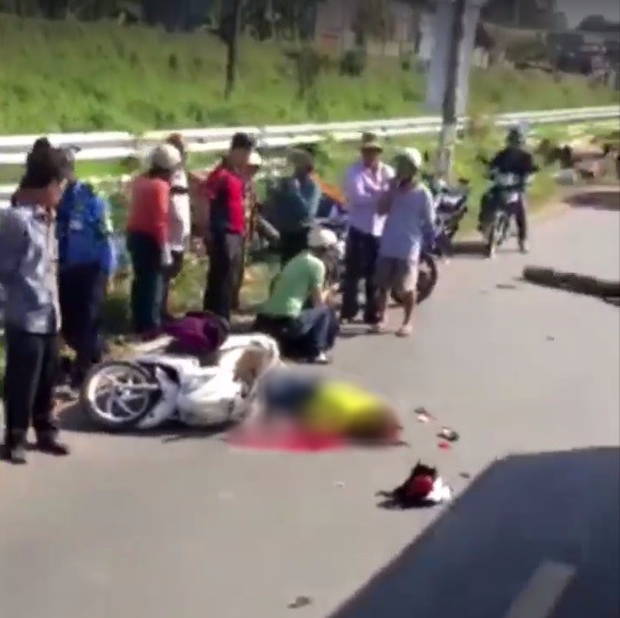 Đồng Nai: Người phụ nữ tự ngã ra đường bị xe tải cán qua tử vong tại chỗ - Ảnh 1.