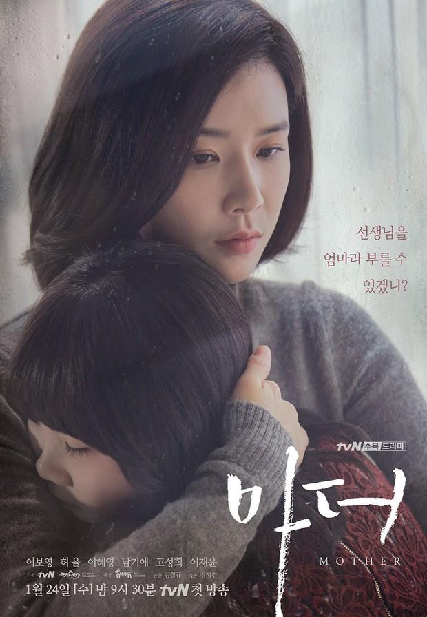 Mother - tác phẩm về nạn ngược đãi trẻ em khiến Lee Bo Young rơi nước mắt - Ảnh 1.