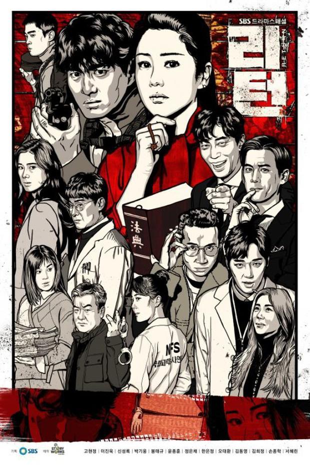 Mở đầu 2018, truyền hình Hàn chiêu đãi ngay bộ phim hình sự hấp dẫn mang tên Return - Ảnh 1.