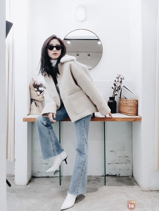Video Shopping: Lượn lờ cùng hot girl Salim tìm địa chỉ mua áo khoác dạ xinh xắn cho mùa lạnh - Ảnh 2.