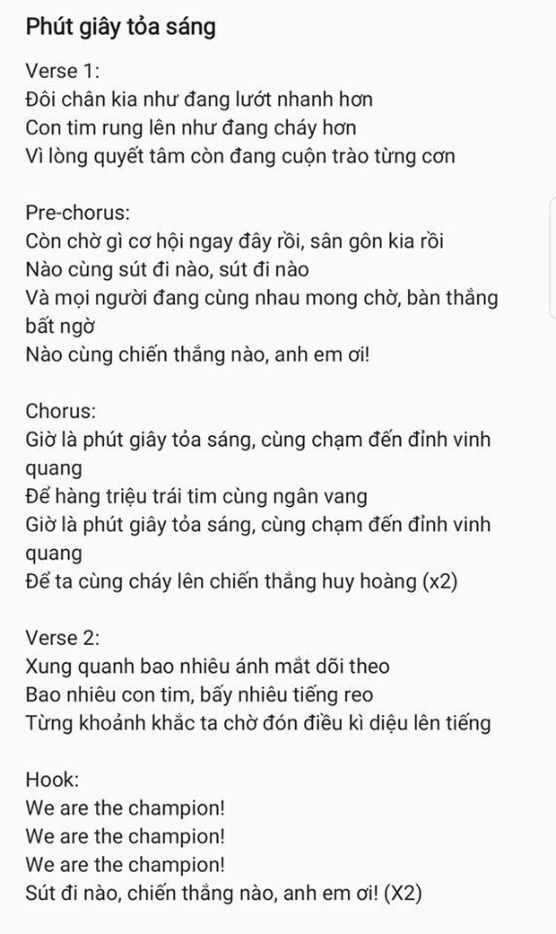 Nhạc sĩ Khắc Hưng sáng tác ca khúc mới dành tặng riêng đội tuyển U23 Việt Nam trước thềm Chung kết - Ảnh 2.
