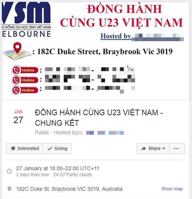 Không chỉ trong nước, fan Việt cả thế giới cũng hò nhau đặt phòng, mang cờ quạt đi cổ vũ cho U23 Việt Nam xung lắm rồi! - Ảnh 2.