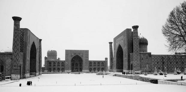 Sống qua những mùa đông âm độ, người Uzbekistan đã quen với cái lạnh khắc nghiệt, mưa tuyết rơi dày - Ảnh 8.