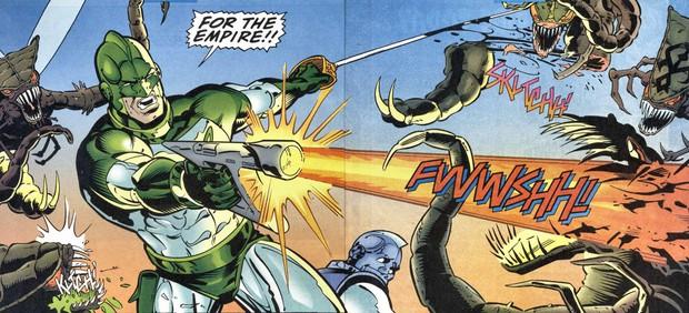Captain Marvel làm người hâm mộ thất vọng với trang phục siêu anh hùng xấu xí - Ảnh 7.