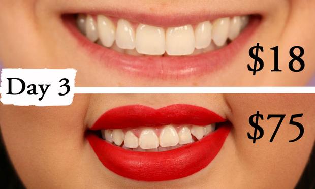 Thử làm trắng răng với 2 sản phẩm đắt và rẻ tiền, 2 cô nàng này đã nhận được kết quả thú vị - Ảnh 7.
