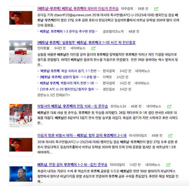 Người dân Hàn ca ngợi: Phép màu của Park Hang Seo đã dừng lại, nhưng U23 Việt Nam thua đẹp lắm! - Ảnh 4.
