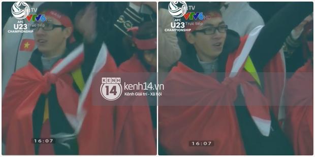 Lại thêm 1 chàng cổ động viên điển trai của U23 Việt Nam được chú ý - Ảnh 4.