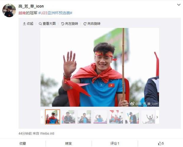 Trung Quốc kinh ngạc vì người hâm mộ Việt Nam quây kín con đường dài 30 km để chào đón đội tuyển U23 trở về - Ảnh 3.