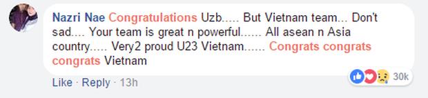 Nếu đã khóc cùng U23 Việt Nam, 10 bình luận của CĐV nước ngoài này sẽ khiến bạn thổn thức trong hạnh phúc - Ảnh 5.
