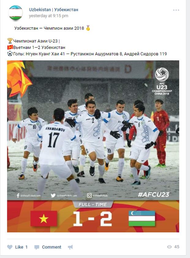 Dù Uzbekistan vô địch, cư dân mạng nước này vẫn ngơ ngác không biết trận đấu diễn ra ở đâu, đá với ai? - Ảnh 7.