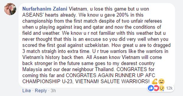Nếu đã khóc cùng U23 Việt Nam, 10 bình luận của CĐV nước ngoài này sẽ khiến bạn thổn thức trong hạnh phúc - Ảnh 10.