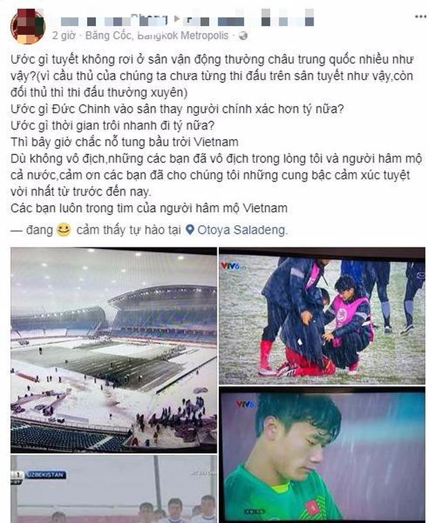 Người Việt ở Thái sau trận chung kết: Cảm ơn U23 Việt Nam, các em đã mang đến cho người hâm mộ những giây phút tuyệt vời nhất - Ảnh 3.