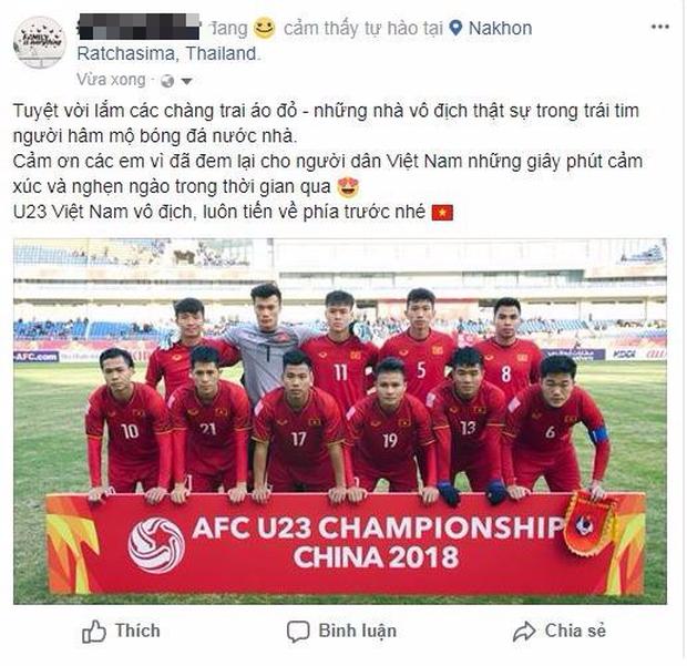 Người Việt ở Thái sau trận chung kết: Cảm ơn U23 Việt Nam, các em đã mang đến cho người hâm mộ những giây phút tuyệt vời nhất - Ảnh 4.