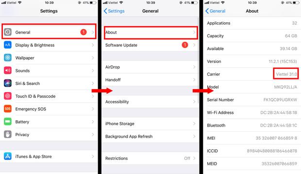 4 cách phân biệt iPhone Lock và iPhone quốc tế chỉ trong vài giây, không lo bị lừa khi đi sắm Tết - Ảnh 3.