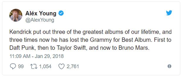 Grammy 2018: Album của năm cho Bruno Mars?, Kendrick Lamar đã bị cướp! - Ảnh 4.