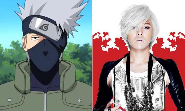 8 bằng chứng cho thấy G-Dragon đã học hỏi kiểu tóc từ dàn nhân vật truyện tranh Naruto - Ảnh 3.