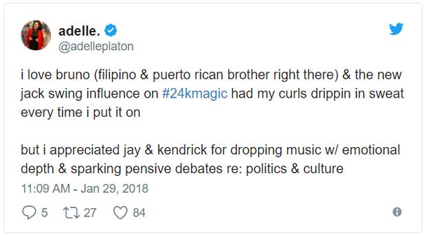 Grammy 2018: Album của năm cho Bruno Mars?, Kendrick Lamar đã bị cướp! - Ảnh 6.