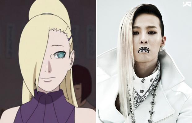 8 bằng chứng cho thấy G-Dragon đã học hỏi kiểu tóc từ dàn nhân vật truyện tranh Naruto - Ảnh 7.