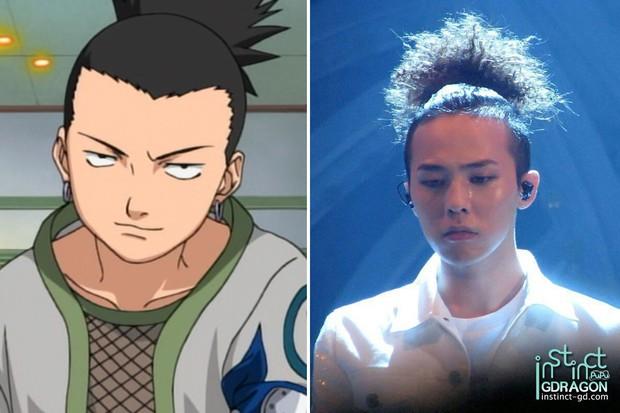 8 bằng chứng cho thấy G-Dragon đã học hỏi kiểu tóc từ dàn nhân vật truyện tranh Naruto - Ảnh 8.