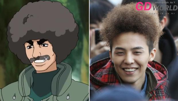 8 bằng chứng cho thấy G-Dragon đã học hỏi kiểu tóc từ dàn nhân vật truyện tranh Naruto - Ảnh 9.
