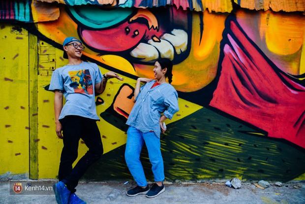 Hãy nhìn xem, Graffiti đã biến một khu dân cư thành cái nôi nhiếp ảnh dành cho giới trẻ thế nào - Ảnh 13.
