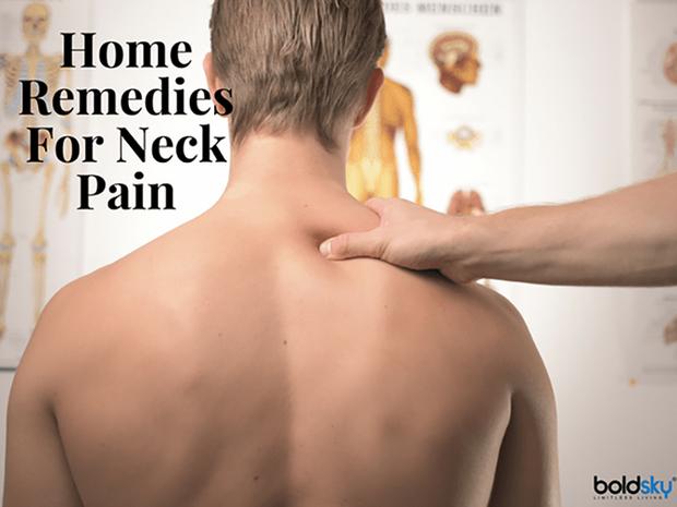 Phương pháp chữa đau cổ dễ làm tại nhà - Ảnh 1.