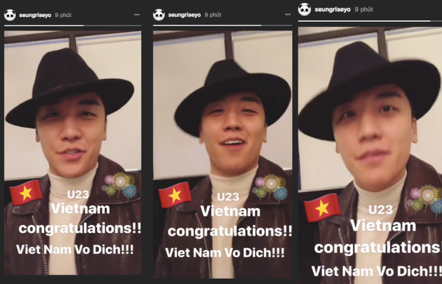 Seungri (Big Bang) đăng clip nói tiếng Việt chúc mừng U23 Việt Nam: Việt Nam vô địch - Ảnh 4.