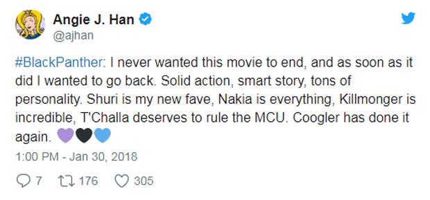 Bom tấn Black Panther nhận cơn mưa lời khen từ giới phê bình đến người hâm mộ - Ảnh 2.