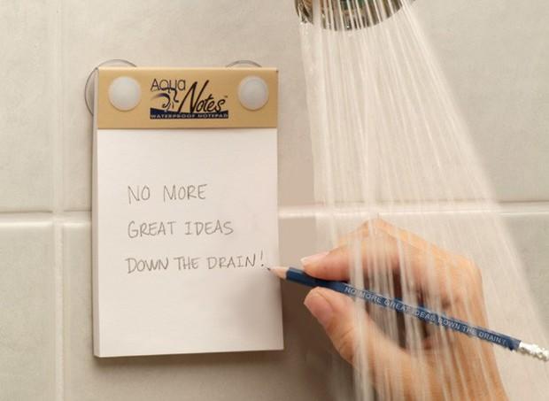 Giấy nhớ chống thấm nước: Phát kiến vĩ đại cho hội thiên tài trong nhà tắm - Ảnh 2.