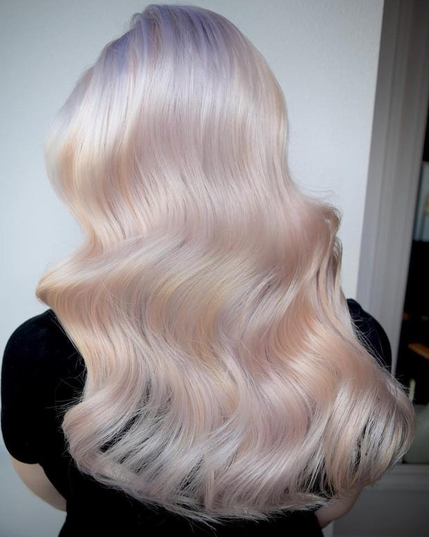 Tóc nhuộm kẹo bông: màu nhuộm huyền ảo mở hàng cho xu hướng tóc 2018 đảm bảo sẽ khiến hội sành điệu phải rối rít - Ảnh 4.