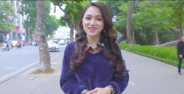 Clip: Hương Giang xuất hiện xinh đẹp, tự tin giới thiệu bản thân tại cuộc thi Hoa hậu Chuyển giới - Ảnh 2.