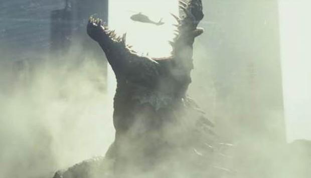 Sói bay khổng lồ khiến The Rock phải sợ hãi trong Siêu Thú Cuồng Nộ - Ảnh 4.