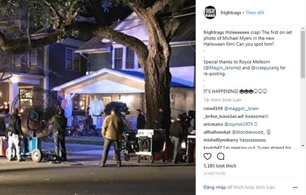 Phim kinh dị giết người kinh điển Halloween bản reboot tiết lộ hình ảnh đầu tiên của tên sát nhân - Ảnh 1.