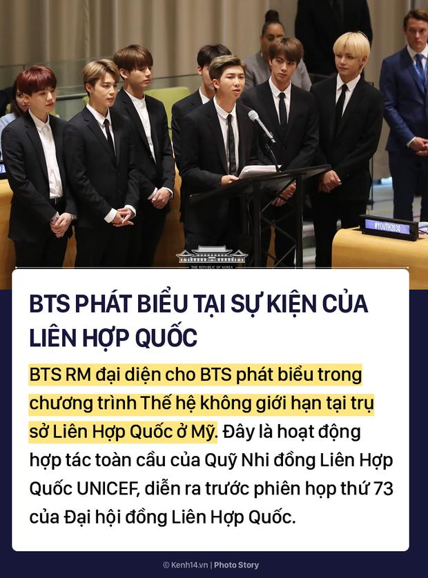 Kpop tuần qua: Từ bài phát biểu ấn tượng của BTS tại Liên Hợp Quốc đến vụ lùm xùm đáp trả fan rồi bị đuổi khỏi nhóm của iKON - Ảnh 1.