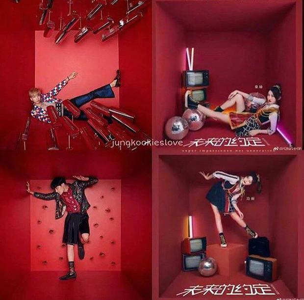 Nghi ngờ nhóm nhạc nữ Trung Quốc đạo nhái concept của BTS, netizen nửa tức nửa thương - Ảnh 1.