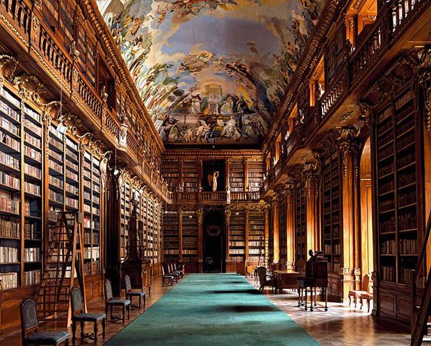 Choáng ngợp với bộ ảnh những thư viện đẹp nhất thế giới: Nơi để đọc sách thôi có cần sang trọng, đẳng cấp như vậy không? - Ảnh 14.