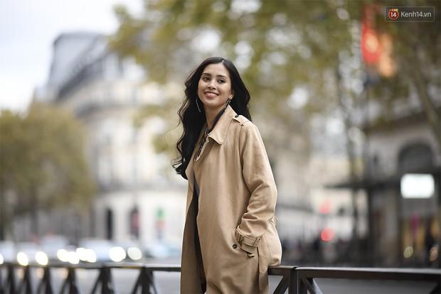 Hoa hậu Tiểu Vy mặt mộc dạo phố Paris, khoe vẻ đẹp đầy sức sống của tuổi 18 - Ảnh 3.
