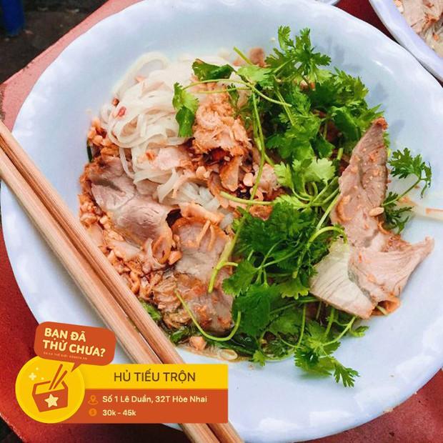 Không cần phải vào đến Sài Gòn, ở ngay Hà Nội thôi bạn cũng có thể tìm thấy thật nhiều loại hủ tiếu rồi này - Ảnh 6.